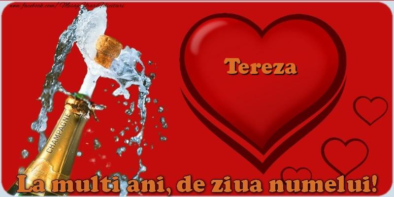 Felicitari de Ziua Numelui - La multi ani, de ziua numelui! Tereza