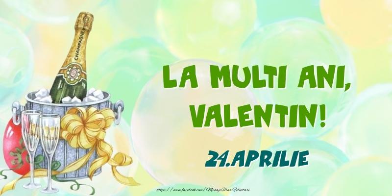 Felicitari de Ziua Numelui - La multi ani, Valentin! 24.Aprilie