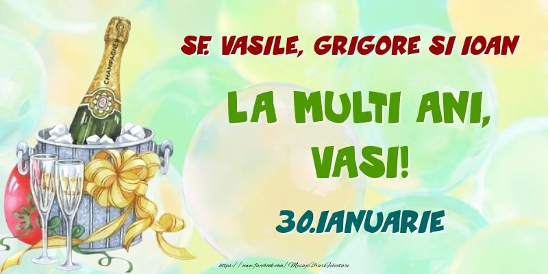 Felicitari de Ziua Numelui - Sf. Vasile, Grigore si Ioan La multi ani, Vasi! 30.Ianuarie