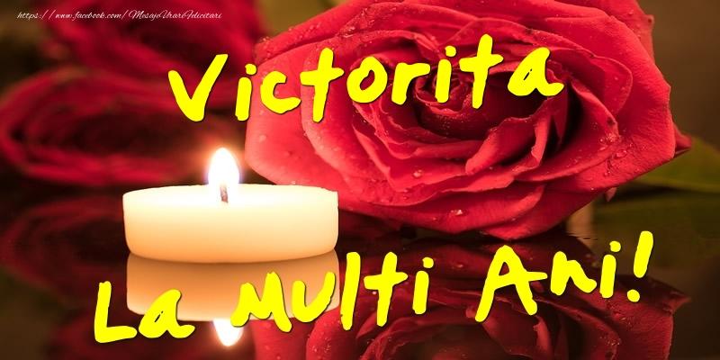 Felicitari de Ziua Numelui - Victorita La Multi Ani!