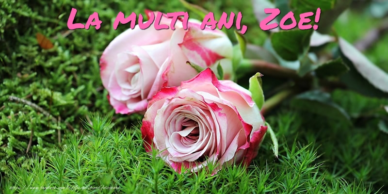 Felicitari de Ziua Numelui - La multi ani, Zoe!