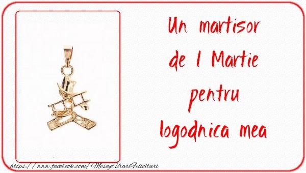 Felicitari de 1 Martie pentru Logodnica - Un martisor pentru logodnica mea