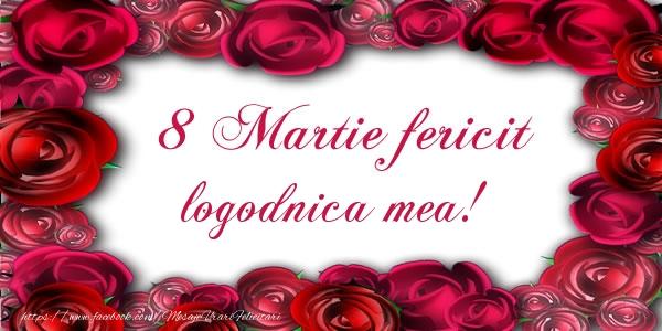 Felicitari de 8 Martie pentru Logodnica - 8 Martie Fericit logodnica mea!
