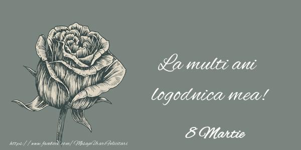 Felicitari de 8 Martie pentru Logodnica - La multi ani logodnica mea! 8 Martie