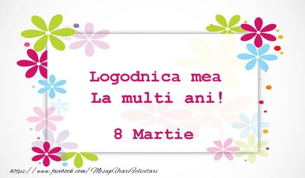 Felicitari de 8 Martie pentru Logodnica - Logodnica mea La multi ani! 8 martie