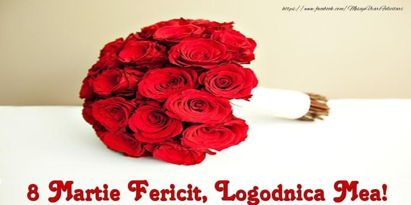 Felicitari de 8 Martie pentru Logodnica - 8 Martie Fericit, logodnica mea!