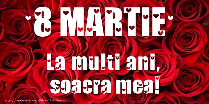 Felicitari de 8 Martie pentru Soacra - 8 Martie La multi ani, soacra mea!