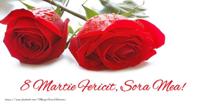 Felicitari de 8 Martie pentru Sora - 8 Martie Fericit, sora mea!