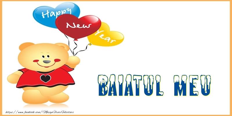 Felicitari de Anul Nou pentru Baiat - Happy New Year baiatul meu!