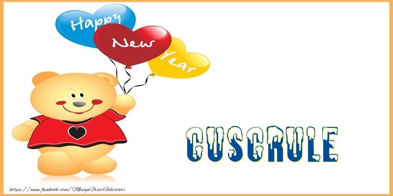 Felicitari de Anul Nou pentru Cuscru - Happy New Year cuscrule!