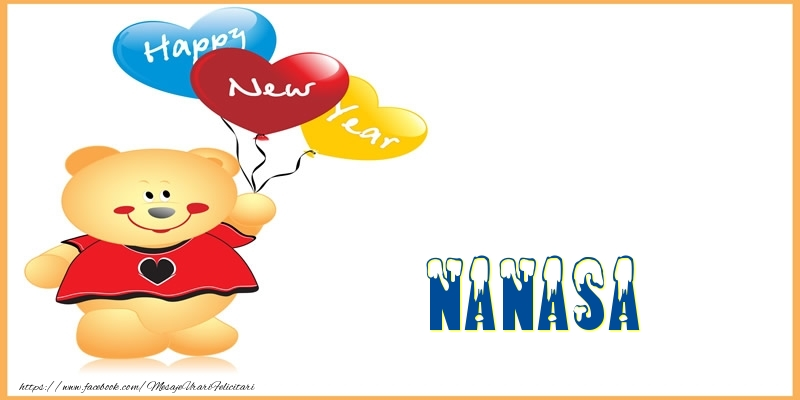 Felicitari de Anul Nou pentru Nasa - Happy New Year nanasa!
