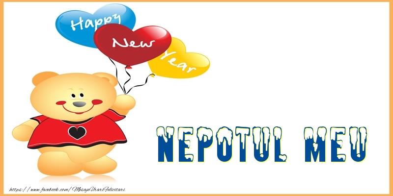 Felicitari de Anul Nou pentru Nepot - Happy New Year nepotul meu!
