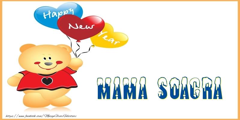 Felicitari de Anul Nou pentru Soacra - Happy New Year mama soacra!