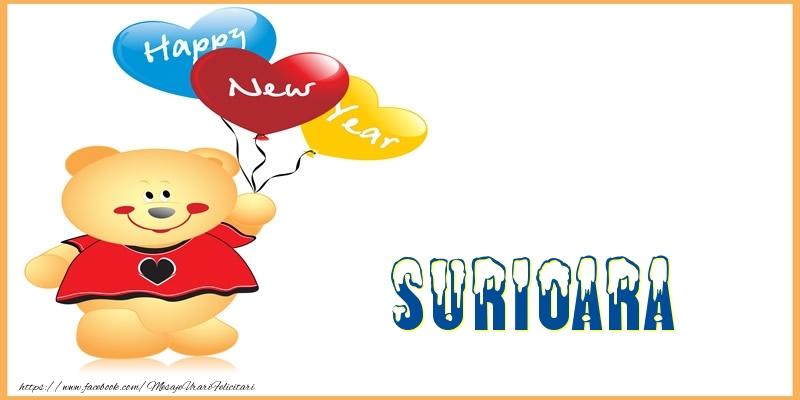 Felicitari de Anul Nou pentru Sora - Happy New Year surioara!