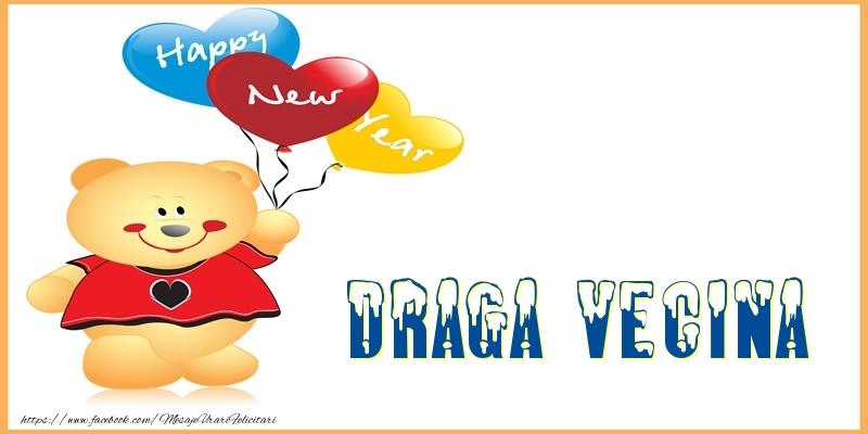 Felicitari de Anul Nou pentru Vecina - Happy New Year draga vecina!