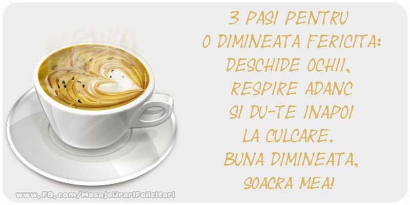 Felicitari de buna dimineata pentru Soacra - Buna dimineata. soacra mea!