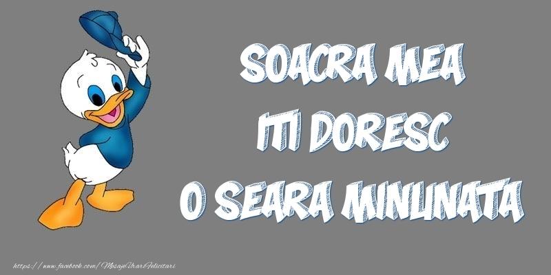 Felicitari de buna seara pentru Soacra - Soacra mea iti doresc o seara minunata