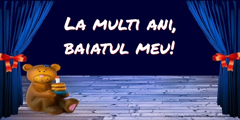 Felicitari pentru copii pentru Baiat - La multi ani, baiatul meu!