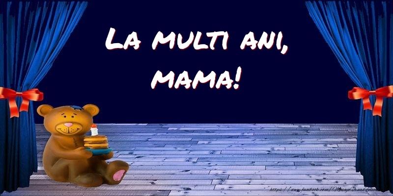 Felicitari pentru copii pentru Mama - La multi ani, mama!