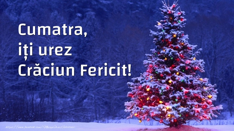 Felicitari de Craciun pentru Cumatra - Cumatra, iți urez Crăciun Fericit!