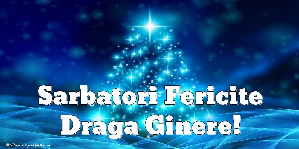 Felicitari de Craciun pentru Ginere - Sarbatori Fericite draga ginere!
