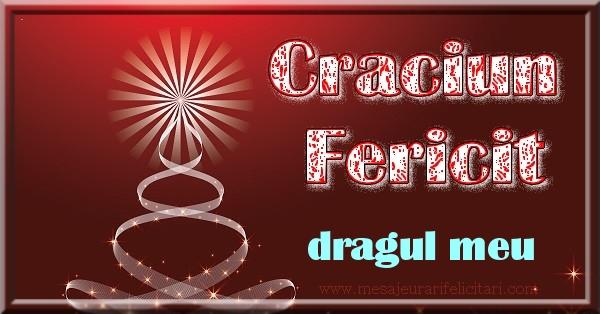 Felicitari de Craciun pentru Iubit - Craciun Fericit dragul meu