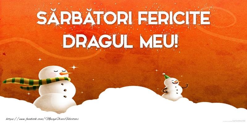 Felicitari de Craciun pentru Iubit - Sărbători Fericite dragul meu!