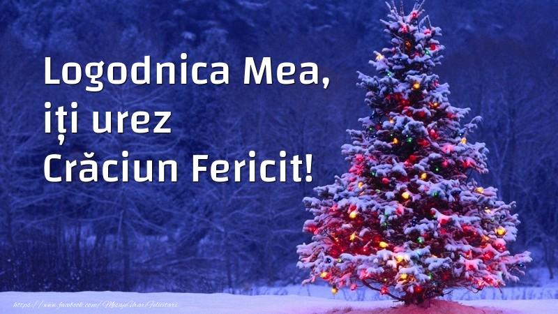 Felicitari de Craciun pentru Logodnica - Logodnica mea, iți urez Crăciun Fericit!