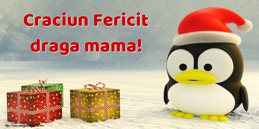 Felicitari de Craciun pentru Mama - Craciun Fericit draga mama!