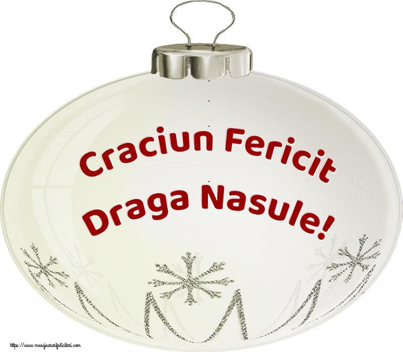 Felicitari de Craciun pentru Nas - Craciun Fericit draga nasule!