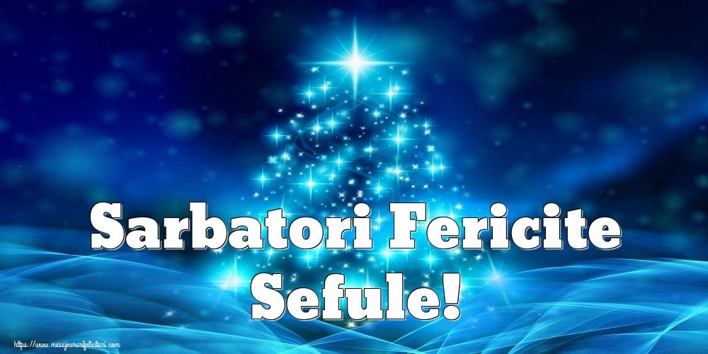 Felicitari de Craciun pentru Sef - Sarbatori Fericite sefule!