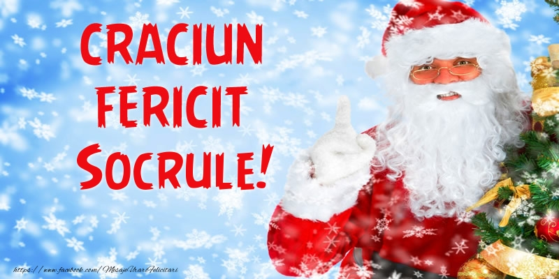 Felicitari de Craciun pentru Socru - Craciun Fericit socrule!