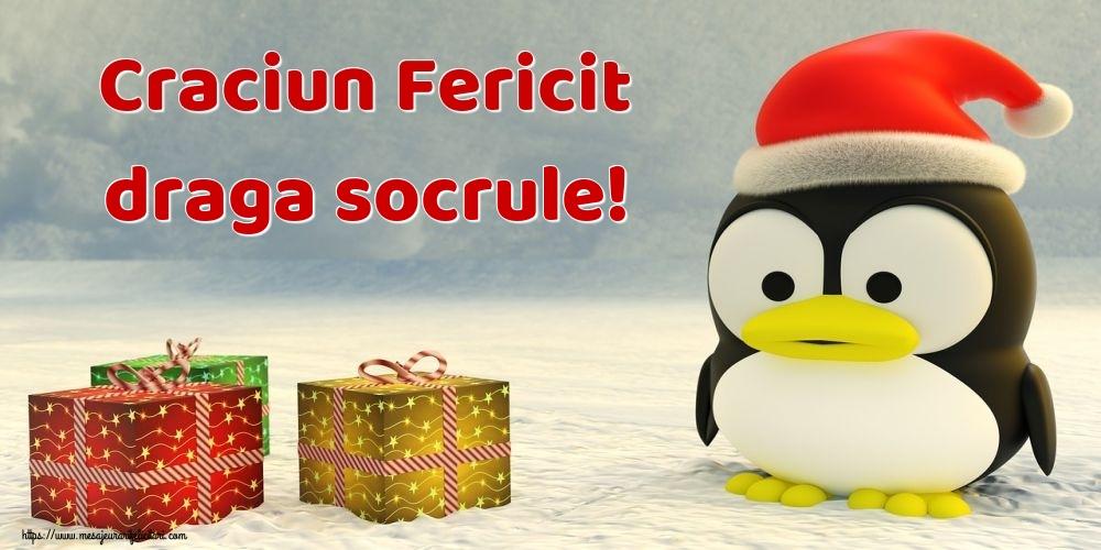 Felicitari de Craciun pentru Socru - Craciun Fericit draga socrule!