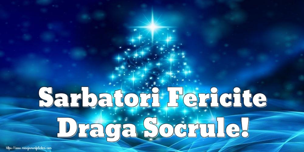 Felicitari de Craciun pentru Socru - Sarbatori Fericite draga socrule!