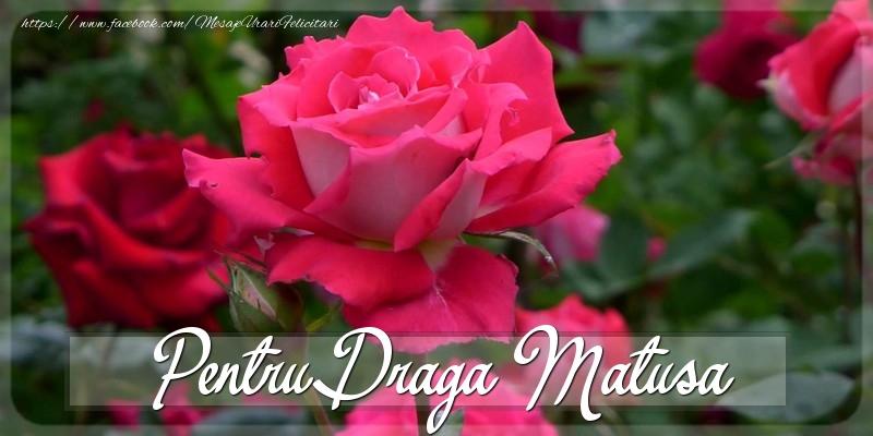 Felicitari Diverse pentru Matusa - Pentru draga matusa