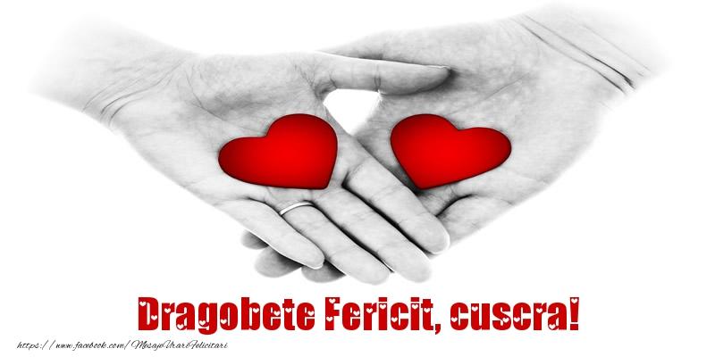 Felicitari de Dragobete pentru Cuscra - Dragobete Fericit, cuscra!