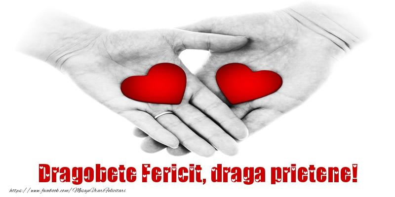 Felicitari de Dragobete pentru Prieten - Dragobete Fericit, draga prietene!
