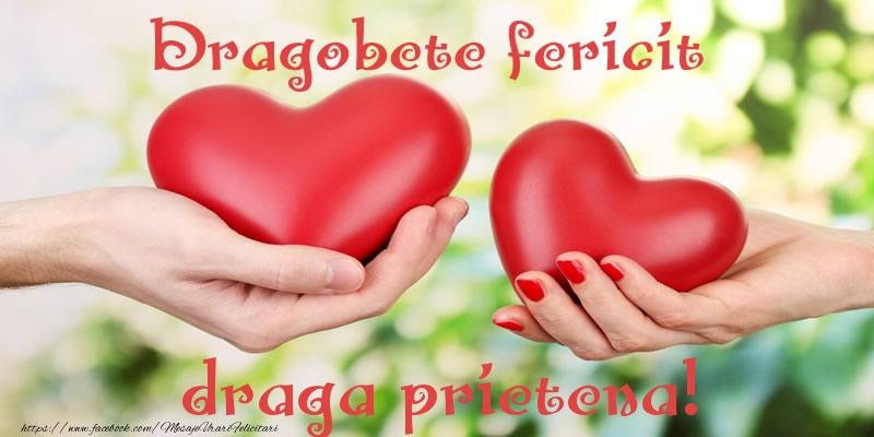 Felicitari de Dragobete pentru Prietena - Dragobete fericit draga prietena!