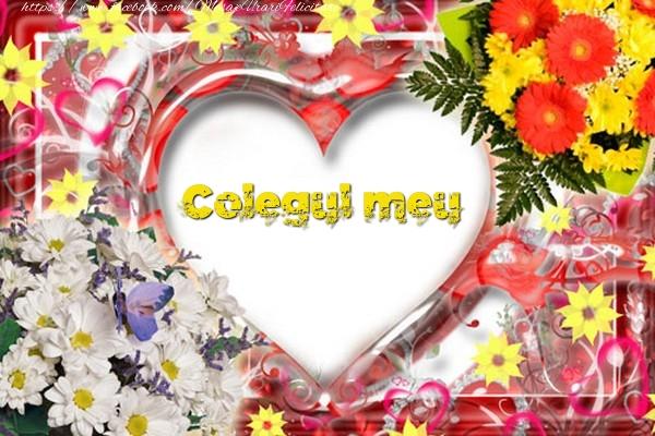 Felicitari de dragoste pentru Coleg - Colegul meu