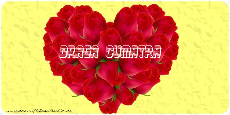 Felicitari de dragoste pentru Cumatra - Draga cumatra