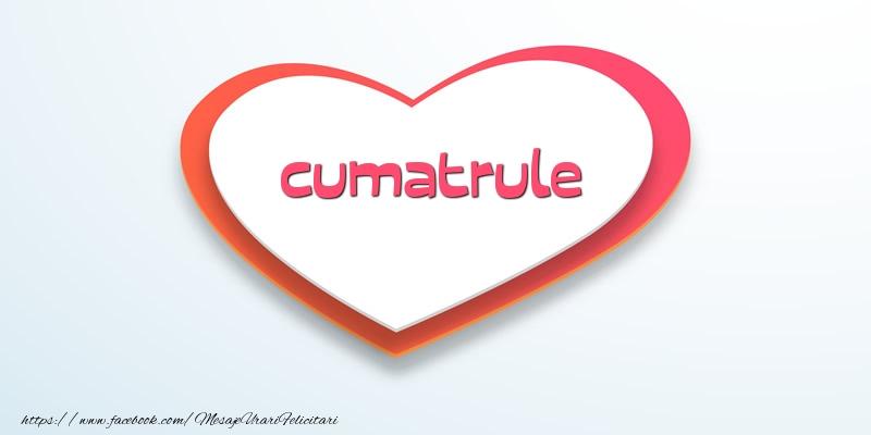 Felicitari de dragoste pentru Cumatru - Love cumatrule