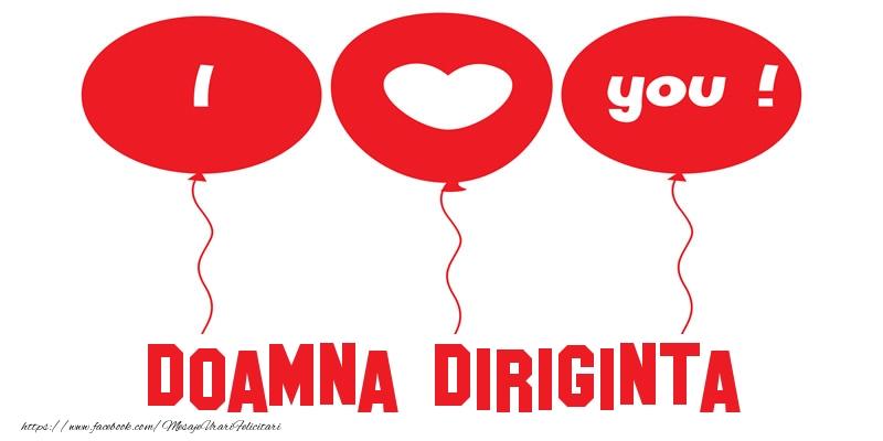 Felicitari de dragoste pentru Diriginta - I love you doamna diriginta!