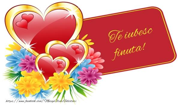 Felicitari de dragoste pentru Fina - Te iubesc finuta!