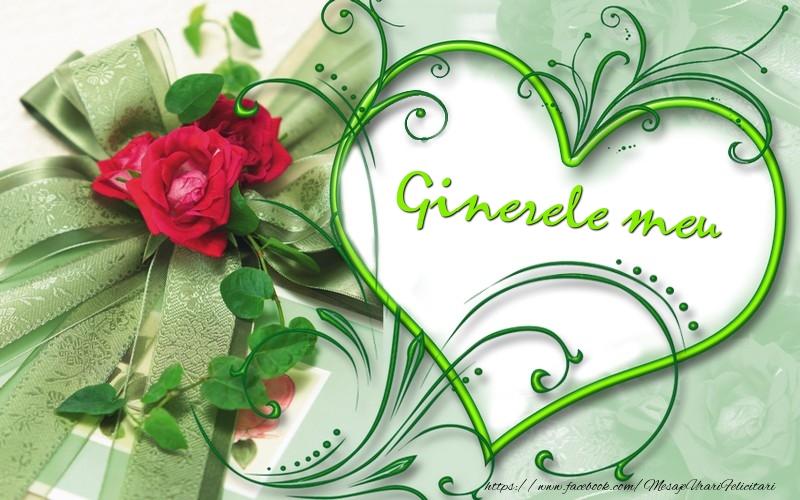 Felicitari de dragoste pentru Ginere - Ginerele meu
