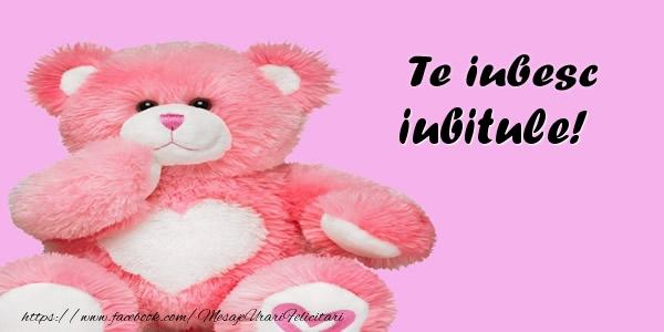 Felicitari de dragoste pentru Iubit - Te iubesc iubitule!