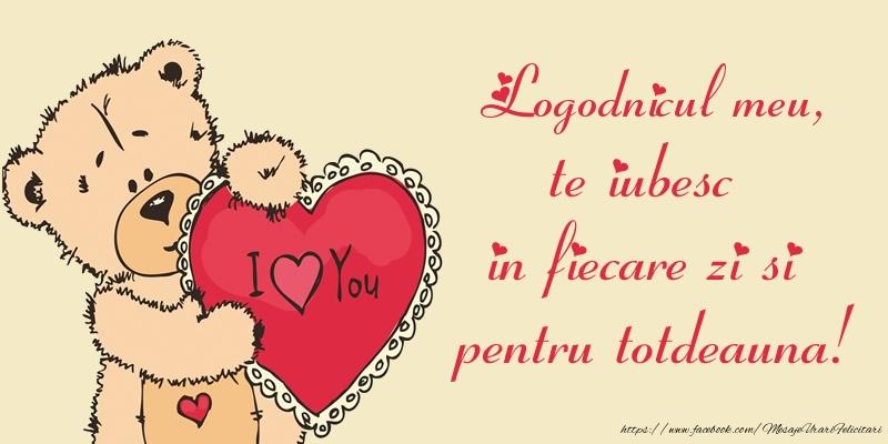 Felicitari de dragoste pentru Logodnic - Logodnicul meu, te iubesc in fiecare zi si pentru totdeauna!