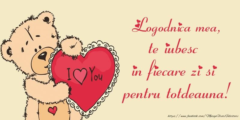 Felicitari de dragoste pentru Logodnica - Logodnica mea, te iubesc in fiecare zi si pentru totdeauna!
