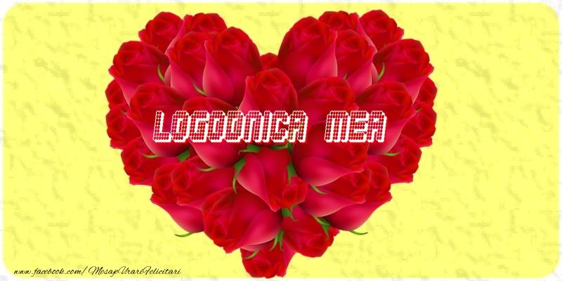 Felicitari de dragoste pentru Logodnica - Logodnica mea