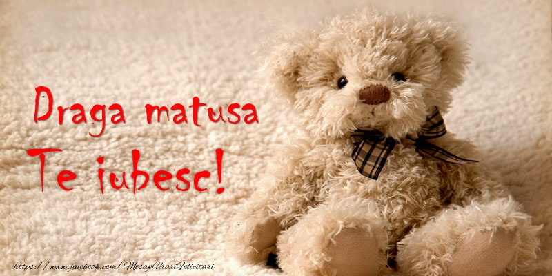 Felicitari de dragoste pentru Matusa - Draga matusa Te iubesc!