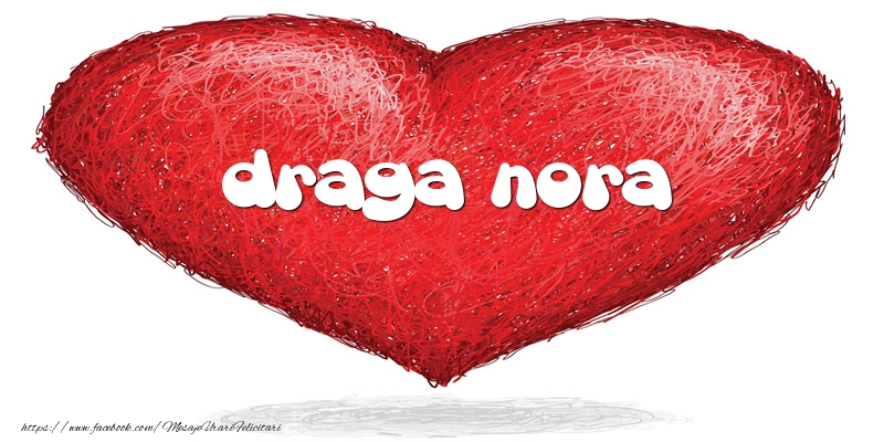 Felicitari de dragoste pentru Nora - Pentru draga nora din inima
